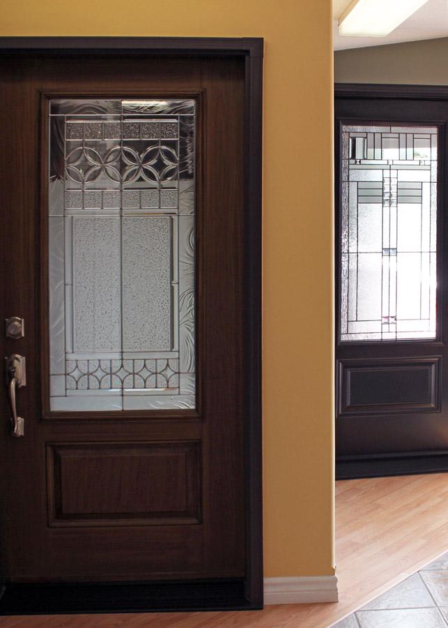 exterior windowed doors